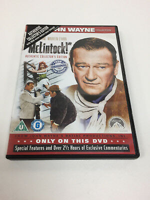 McLintock (DVD, 2007) (UK PAL) (Region 2)
