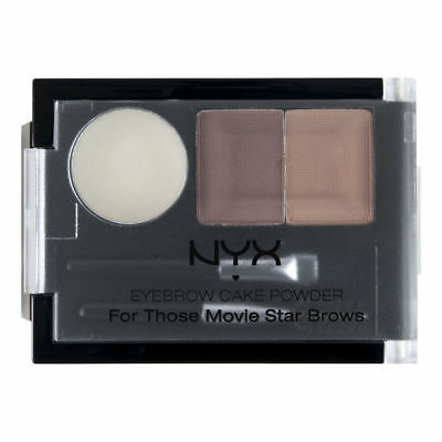 Nyx Cosmetics Eyebrow Cake Powder For Those Movie Star Brows 0.09Oz Ecp