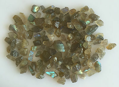 100 Ct Scoop Natural Labradorite Rough Gemstones Loose Wholesale Lot Raw Mineral