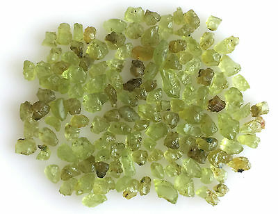 50 Ct Scoop Natural Peridot Yellowish Green Raw Rough Loose Mineral Gemstone Lot
