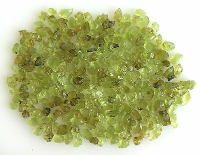 100Ct Scoop Natural Peridot Yellowish Green Raw Rough Loose Mineral Gemstone Lot