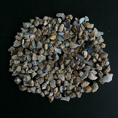 Natural Ethiopian Opal Rough Scoop Lot Loose Gemstones Earth Mined Play Of Color