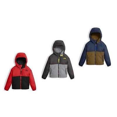 d7164f5a5317 THE NORTH FACE Toddler Boys Sherparazo Hoodie Coat Fleece Jacket New ...