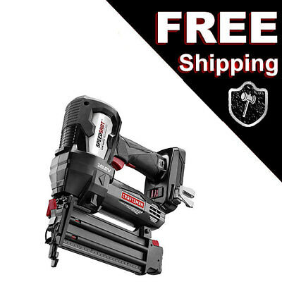 "Craftsman C3 19.2V Brad Nailer Cordless 5/8""-2"" Strip Nail Gun Power Tools Drive"