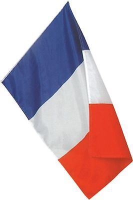 DRAPEAU Pavillon France Francais tissu 90 x 150 cm FLAG Étendard Foot, supporter