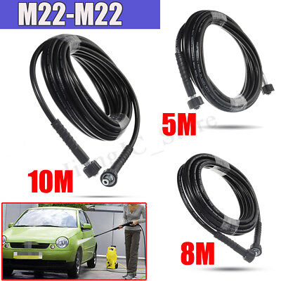 40MPa High Pressure Water Cleaner Washer Hose M22*M22 Male To Male 5M/8M/10M