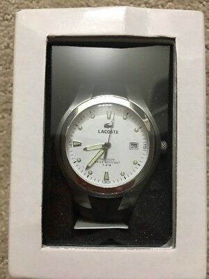 Lacoste Mens Wristwatch 3510G Precision Water Resistant 5 ATM Stainless Steel