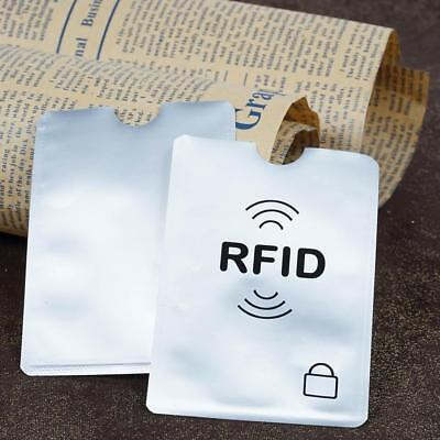 Credit Card Protector Sleeve Wallet Card RFID Blocking Contactless Debit A+