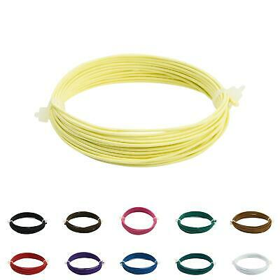 BR122 0.9mm silk covered craft wire - For fascinators, hats & craft use