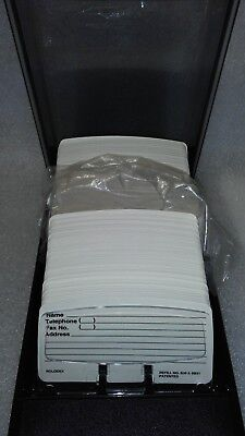 Rolodex VIP 24C Covered Business Card File