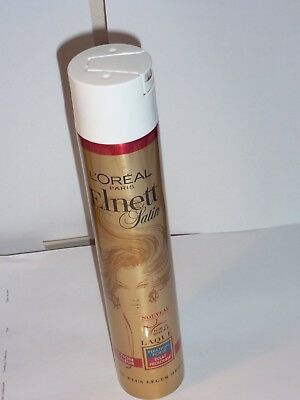 Laque Elnett Satin  - 400 Ml - Protection Couleur Fixation Forte