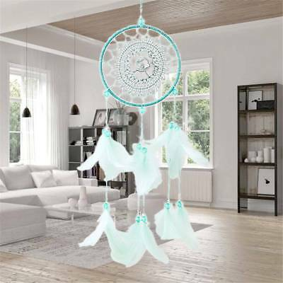 Large Dream Catcher Colorful Feathers Wall Home Office Hanging Ornament Gift