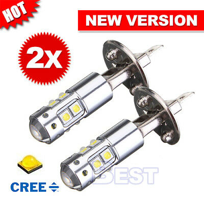 2X 2018 H1 Led Cree Xbd Headlight Fog Driving Light Bulb Car Ute 4Wd Lamp Globe