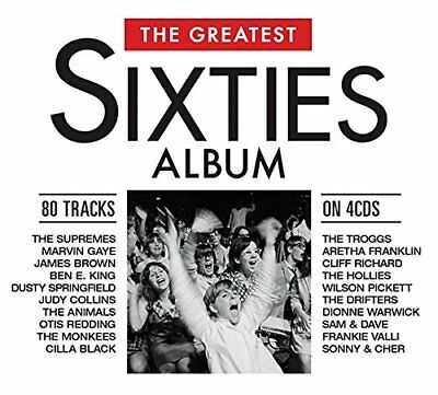 THE GREATEST SIXTIES ALBUM (Best Of The 60s) 4 CD SET (2018)