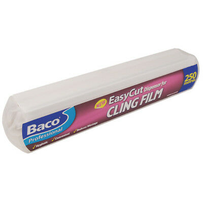 Baco Professional EasyCut High Use Catering Cling Film Dispenser 35cm x 250metr