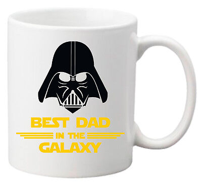Best Dad in the Galaxy - Tazza Idea Regalo Festa del Papà Compleanno