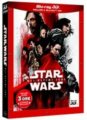 Star Wars Episodio VIII - Gli ultimi Jedi (Blu-Ray 3D + Blu-Ray Disc + Bonus)