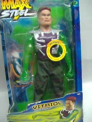 Mattel *Max Steel - VITRIOL - Actionfigur mit Funktionen* NEU & OVP