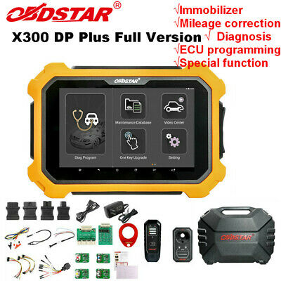 OBDSTAR X300 DP Plus X300 PAD2 Tablet Full Version Support IMMO/ECU Programing