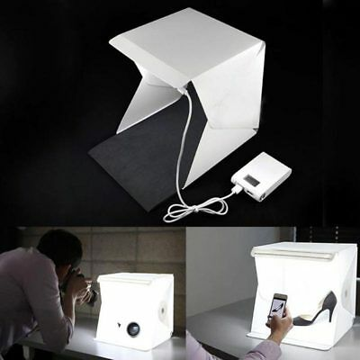 Portable Mini Studio Lighbox Photography Photo LED Backdrop Lightroom M9W7R