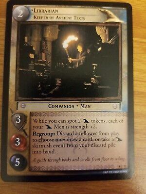 Lord of the Rings TCG Treachery & Deceit 18C22 Librarian, Keeper of Ancient Text