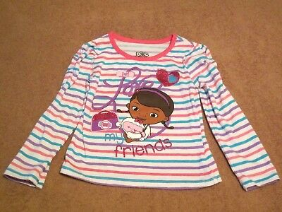 Baby Girls Toddler Disney Doc McStuffins Long Sleeve Shirt Size 3T