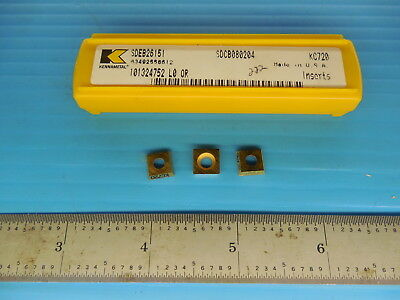 SDEB 26151 KC725M KENNAMETAL ** 10 INSERTS * FACTORY PACK ***