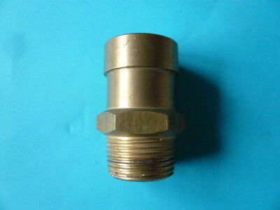 """1"""" Male Brass Dry Riser Air Release Valve - Unused Old Stock"""