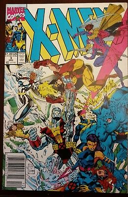 X-MEN  (1991 Series)  (MARVEL) #3 NEWSSTAND VF+/NM Comics Book