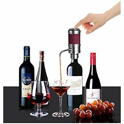 Electric Wine Aerator Dispenser Pump - Portable And Automatic Bottle Breather W/