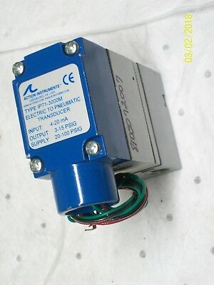 ACTION INSTRUMENTS IP71-3000M TRANSDUCER ELECTRIC to PNEUMATIC