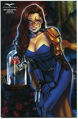 Grimm Fairy Tales Belle Beast Hunter #2 Zenescope Exclusive Variant Cover E