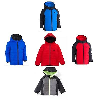 New Boys Under Armour Cold Gear Werewolf Puffer Jacket Coat Water resistant $60