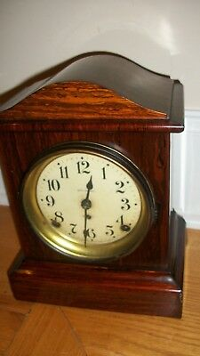 Antique Seth Thomas Adamantine Mantle Clock w/89  Movement in working condition