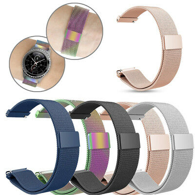 Stainless Steel Watch Band Magnetic for Samsung Gear S2 Classic SM-R732 SM-R735