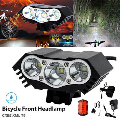 CREE XML T6 LED Bike Bicycle Cycling Headlight Front Rare Head Front Lights Lamp