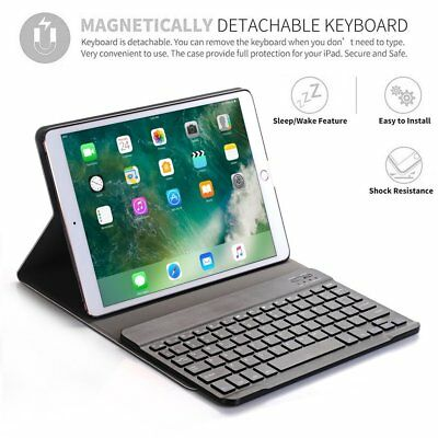 FINTIE IPAD PRO 10 5 Case Stand Cover + Removable Wireless Bluetooth