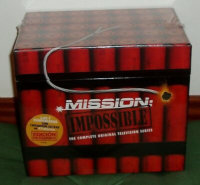 Mission Impossible Mission Impossible 1-7 Seasons Complete 47 Dvd New R2