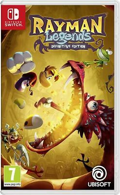 Rayman Legends Definitive Edition Nintendo Switch Spiel *NEU OVP*