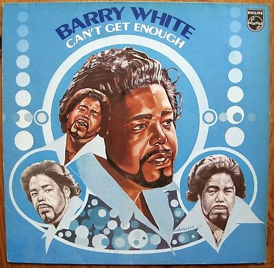 Barry White, Can`t  Get Enough, LP