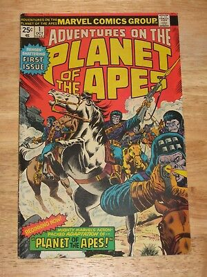 Adventures On The Planet Of The Apes 1  Rare High Grade Marvel Comics Bronze Age