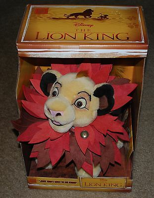 Disney Store The Lion King Simba Plush Limited Edition Of 3500