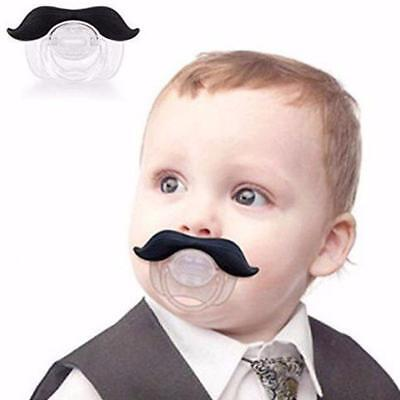 Mustache Pacifier / Teether Soother for Baby Infants / Free Shipping