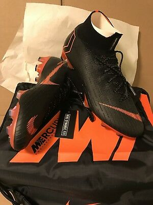 the latest d2f18 292b4 NIKE MERCURIAL SUPERFLY 6 Elite FG 360 Soccer Cleats - Flyknit - Vapor-  Black