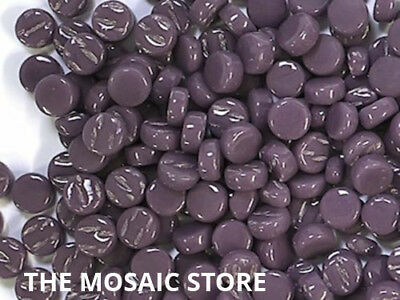 Purple Glass Dots for Mosaic Art & Craft Tiles & Supplies