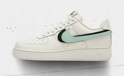 Nike Air Force One 1 Low Swoosh Pack Replaceable Swoosh White Off White Sail