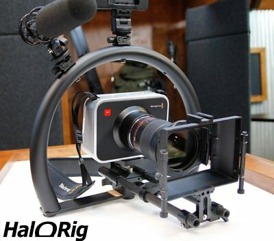 New! HaloRig MINI Video Camera Stabilizer Support Hand Held Halo Rig