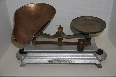 Antique Buffalo Scale Co Balance Scale Country Store