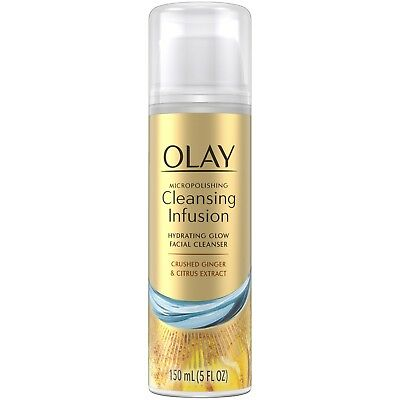 Olay Micropolishing Cleansing Infusion Facial Cleanser Crushed Ginger & Citrus