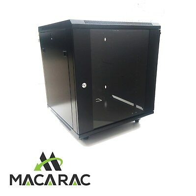 "12U 600mm FREE STANDING / WALL-MOUNT 19"" Professional Range 19"" Rack Cabinet"